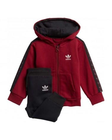 Adidas Tape Hoodie Set